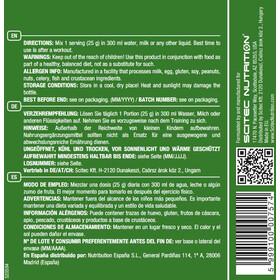 SCITEC 100% Whey Isolate Proteína en Polvo 700g, Chocolate